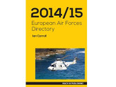 EAFD1415 | Mach III Publishing Books | European Air Forces Directory 2014/15 - Ian Carroll