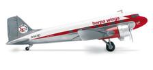553803 | Herpa Wings 1:200 1:200 | Douglas DC-3 Herpa Wings N143D, '75th Anniversary' (die-cast) | =SALE ITEM!= | 30% OFF
