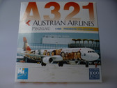 DRW55055 | Dragon Wings 1:400 | Airbus A321 Austrian '1000 Years' OE-LBB