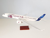 DM045 | Desktop Models 1:100 | Airbus A350-900 House Colours 'Qatar'