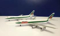 MMSET Boeing 747-200 and 747-200F Set Alitalia I-DEMP and I-DEMR