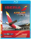 IBE5B | World Air Routes (Just Planes) Blu-ray | Iberia A330-300 ETOPS (268 minutes)