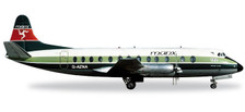 556866 | Herpa Wings 1:200 | Viscount 800 Manx Airlines G-AZNA (die-cast)