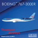 PH11043 | Phoenix 1:400 | Boeing 767-300ER Thomson Airways G-OBYF (with winglets)