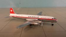 ACHBIBU | Aero Classics 1:400 | Douglas DC-6B Swissair HB-IBU