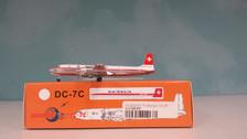 ACHBIBP | Aero Classics 1:400 | Douglas DC-7C Swissair HB-IBP