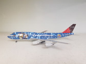 BBOX2531 | JC Wings 1:200 | Boeing 747-400 JAL JA8905, No. 5 Jumbo, 'Disney Sea' (no winglets, with stand)