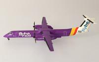 GJBEE1443 | Gemini Jets 1:400 | Dash 8 Q-400 Flybe G-JECY, 'Purple'