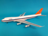IF27420615P | InFlight200 1:200 | Boeing 747-200 South African ZS-SAO, 'Magaliesberg' (polished, with stand)