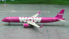 PH11145 | Phoenix 1:400 | Airbus A321 WOW Air TF-MOM (sharklets) | is due: July 2015