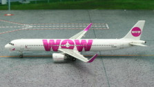 PH11144 | Phoenix 1:400 | Airbus A321 WOW Air TF-DAD (white, sharklets) | is due: July 2015