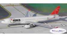 ACN858NW | Aero Classics 1:400 | Airbus A330-200 NWA Northwest N858NW
