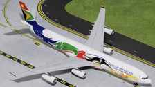 G2SAA378 | Gemini Jets 1:200 1:200 | Airbus A340-300 South African ZS-SXD, 'Siyanqoba' | is due: August 2015