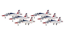 HG60067 | Hogan Die-cast 1:200 | T-38A Set USAF 'Thunderbirds' (6 in 1) | available on request