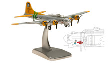 HG5958 | Hogan Die-cast 1:200 | B-17G Flying Fortress US Army Air Corps 297400 E, 'Fuddy Duddy' | is due: July 2015