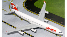 G2SWR382 | Gemini Jets 1:200 1:200 | Airbus A340-300 Swiss HB-JMK | is due: September 2015