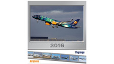 CALP16 | Calendars | Flugzeuge Airplanes - Wall Calendar 2016 (with 24 postcards) | =SALE ITEM!= | 80% OFF