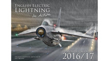 CALL16 | Calendars | English Electric Lightning Wall Calendar 2016 (A3 folded) | =SALE ITEM!= | 60% OFF