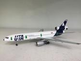 IFDC101115P   InFlight200 1:200   DC-10-30 UTA F-BTDE, 'Aeromaritime' (polished, with stand)
