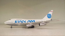 IF747SP0216P | InFlight200 1:200 | Boeing 747SP Pan Am N538PA, 'Billboard' (polished, with stand)