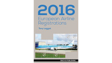 EAR16 | Mach III Publishing Books | European Airline Registrations 2016 - Tony Leggat