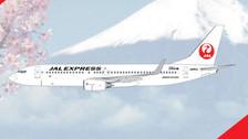 PH11210   Phoenix 1:400   Boeing 737-800 JAL Express A350J