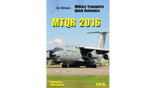 MTQR16 | Air-Britain Books | Military Transports Quick Reference 2016 - Philip Hancock