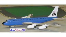 A2N7080   Aero Classics 200 1:200   Boeing 720 Braniff International N7080 (baby blue)