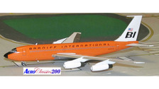 A2N7079 | Aero Classics 200 1:200 | Boeing 720 Braniff International N7079 (orange)