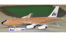 A2N7081   Aero Classics 200 1:200   Boeing 720 Braniff International N7081 (beige)