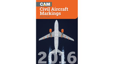 CAM16 | Books | CAM - Civil Aircraft Markings 2016 - Allan S Wright