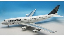 IFIRONMAIDEN747 | InFlight200 1:200 | Boeing 747-400 Iron Maiden TF-AAK, 'The Book of Souls' World Tour