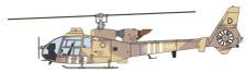 AV7224005 | Aviation 72 1:72 | Westland Gazelle XZ321/D Operation Granby