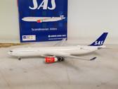 XX4302   JC Wings 1:400   Airbus A330-300 SAS Scandinavian LN-RKH   is due: TBC
