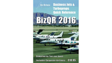 BJQR16 | Air-Britain Books | BizQR Business Jets & Turboprops Quick Reference 2016