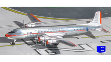 ACN301AA | Aero Classics 1:400 | DC-7 American Airlines N301AA