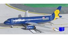 ACN775JB | Aero Classics 1:400 | Airbus A320 JetBlue N775JB, 'Veterans'