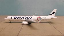 528399 | Herpa Wings 1:500 | Airbus A321 Finnair OH-LZL, 'Santa Claus'