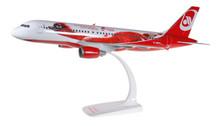 610667 | Herpa Snap-Fit (Wooster) 1:100 | Airbus A320 Air Berlin D-ABFO, 'Top Bonus'