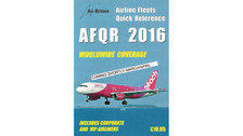 AFQR16 | Air-Britain Books | Airline Fleets Quick Reference 2016