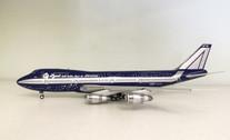 JFI-747-2-010 | JFox Models 1:200 | Boeing 747-200 Alitalia I-DEMF, 'Baci' (with stand)
