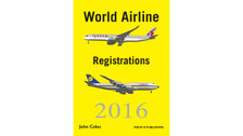 WAR16B | Mach III Publishing Books | World Airline Registrations 2016 - John Coles (binder version)