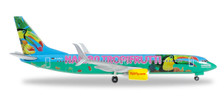 528191 | Herpa Wings 1:500 | Boeing 737-800 Tuifly D-ATUJ, 'Haribo Tropifrutti' | is due: March 2016