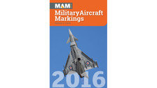 MAM16 | Books | MAM - Military Aircraft Markings 2016 - Howard J Curtis