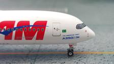EAG100029B | Eagle 1:200 | Airbus A350-900 TAM PR-XTA, 'Americas' First A350'