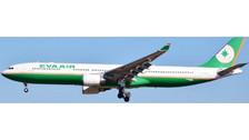 LH4001   JC Wings 1:400   Airbus A330-300 EVA Air B-16335   is due: June 2016
