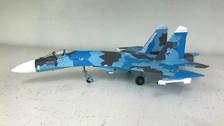JCW72SU27001 | JC Wings Fighters 1:72 | SU-27 Flanker Ukrainian Air Force, 831st IAP