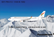 SKY-PM-012 | Panda Models 1:400 | Airbus A320 Tibet Airlines B-1682 | is due: May 2016