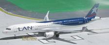 ACCCBEA | Aero Classics 1:400 | Airbus A321 LAN Chile CC-BEA