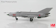 HA0187SR | Hobby Master Military 1:72 | MiG-21 PFM #515 North Korean Air Force | is due: September 2016